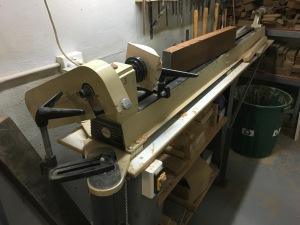 Wood Lathe 25mm x 1.5m