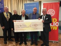 Rotary Bendigo Cheque June19